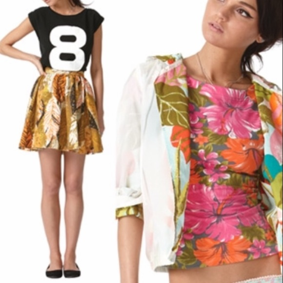 Tracy Feith Jackets & Blazers - Tracy Feith tropical jacket